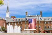 picture of virginia  - front of Alexandria city hall in Virginia USA - JPG