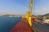 Landscape Industry Ship Port