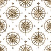 Compass seamless background pattern