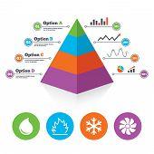 foto of ventilator  - Pyramid chart template - JPG