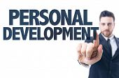 image of self assessment  - Business man pointing the text - JPG