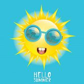 picture of smiling  - Hello Summer - JPG