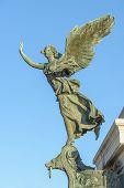 image of altar  - The altare della patria monument called victoriano or vittoriano in rome italy - JPG