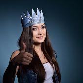 pic of princess crown  - Pretty jeans princess - JPG