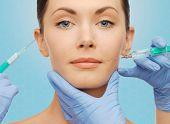 stock photo of lip augmentation  - plastic surgery - JPG