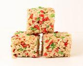 Christmas Rice Cookies