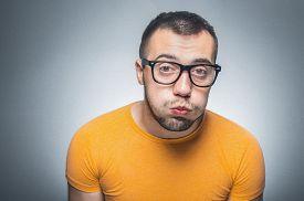 image of nerds  - Funy nerd bored - JPG