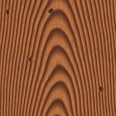 Wood Background With Knots