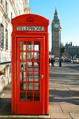 A Red Telephone Booth