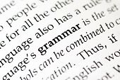 stock photo of verbs  - The word  - JPG
