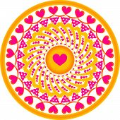 Ornament hearts