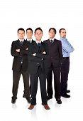 Confident Business Team Work