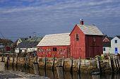 Rockport Massachusetts Harbor