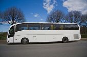 blank tour bus - of