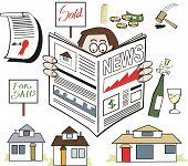 Real Estate news cartoon