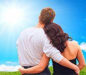 Paar In liefde samen