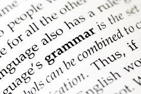 stock photo of verbs  - The word  - JPG