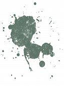 Grunged Splat 14