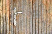 Door Handle Chrome Door Knob,door Lock Safety House Concept poster