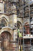 Renovating Rosslyn Chapel