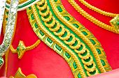 picture of brahma  - Texture Of Body Part Of Red Brahma body - JPG