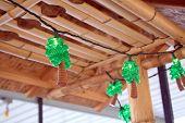 Tiki Bar Palm Tree Lights