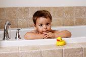 bath time with ducky