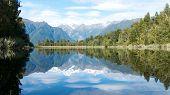 Lake Matheson Reflection