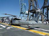 Civilians Inspect An Sh-60 Seahawk