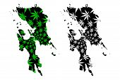 Eastern Visayas Region (regions And Provinces Of The Philippines, Republic Philippines) Map Is Desig poster