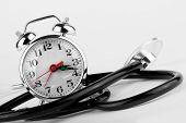 Alarm Clock With Stethoscope