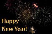 New Years Fireworks Display