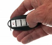 Thumb On Keyless Wireless Door Opener