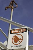 Danger Do Not Drink