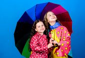 Bright Umbrella. It Is Easier To Be Happy Together. Be Rainbow In Someones Cloud. Rainy Day Fun. Hap poster