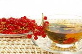 Currant And Herbal Tea In A Cup poster