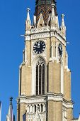 Catholic Cathedral The Name Of Mary Church In The City Of Novi Sad, Vojvodina, Serbia poster