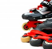 Roller Skates Close Up, Copy-space