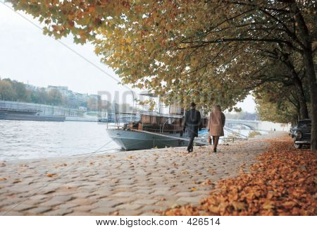 poster of River City In Autumn