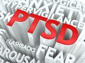 Conceito de PTSD.
