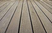 Wooden Floors Walkway.