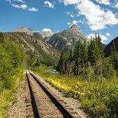 Durango And Silverton Narrow Gauge Railroad Tracks