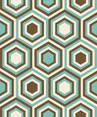 Fashion geometrical pattern in retro colors