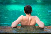 Total Relax In A Swimming Pool