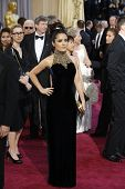 LOS ANGELES, CA - FEB 24: Salma Hayek at the 85th Annual Academy Awards on February 24, 2013 in Los Angeles, California