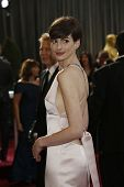 LOS ANGELES, CA - FEB 24: Anne Hathaway at the 85th Annual Academy Awards on February 24, 2013 in Lo