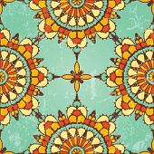 Ornamental seamless pattern.