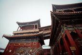 Yonghegong lama temple in Beijing