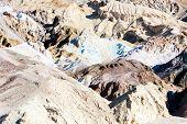 Artist's Palette in Artist's Drive, Death Valley National Park, California, USA