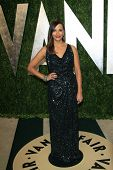 WEST HOLLYWOOD, CA - FEB 24: Rashida Jones at the Vanity Fair Oscar Party at Sunset Tower on February 24, 2013 in West Hollywood, California